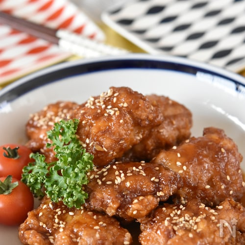 家庭料理の定番♪鶏のからあげ甘酢だれ【冷凍・作り置き】