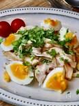 高タンパク低カロリー!『ささみとゆで卵のエスニック風』