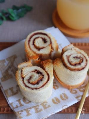 食パンで!シナモンロール風トースト