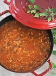 筍と鶏ひき肉の和風ミートソース