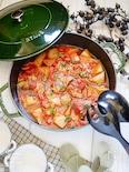 スペアリブと大根のオイルトマト煮