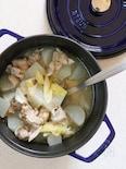 鶏と大根の蒸し煮