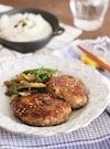 作り置き豆腐ハンバーグで和風ハンバーグランチ♡