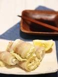 オーブンで簡単調理♪白菜の豚巻き