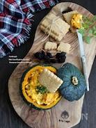 かぼちゃのヨーグルトタルタルディップ