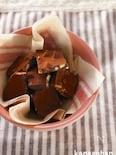 ココナッツオイルでチョコレート