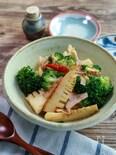 野菜をたっぷり味わう『筍とブロッコリーのアーリーオーリオ』