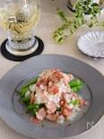 インゲン豆とベーコンのマリネ風サラダ