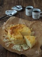 サワークリーム&マスカルポーネのさっぱりチーズケーキ