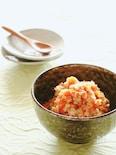 食べ応えアリ◎おからと鶏挽の旨味炒め