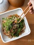『大葉でさっぱり!肉野菜炒め』#やみつき#簡単#ご飯が進む
