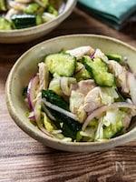 おつまみデリ風サラダ『鶏しゃぶとたたききゅうりのサラダ』