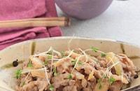 豚こまのジンジャークリーム§クリーミ~な豚の生姜焼き