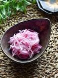 彩り綺麗★紫玉ねぎの甘酢漬け