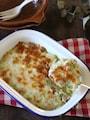 ヘルシー&グルテンフリー♪キャベツのミルク煮グラタン