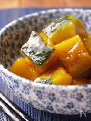 レンジで簡単*とろみが美味いかぼちゃの煮物*