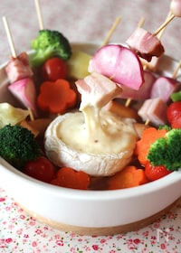 『カマンベールチーズ串鍋』