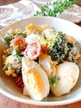 ブロッコリーとゆで卵のゴマ・マヨ・サラダ