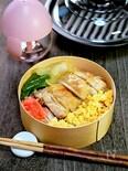 【15分弁当】レンジで簡単!「鶏の漬け焼きそぼろ弁当」