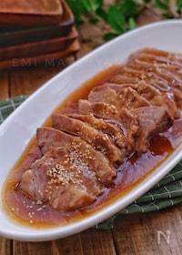 『煮るだけ簡単!*とろーり煮汁の柔らかさっぱり煮豚*』