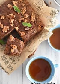 『ホットケーキミックスで簡単!紅茶バナナケーキ』