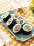 ボリューム満点!肉巻き寿司