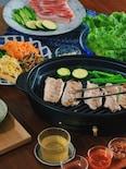 <BRUNO>3種のタレで食べるサムギョプサル