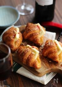 『3分で作れるチーズクロワッサンド』