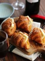 3分で作れるチーズクロワッサンド