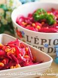 15分でできる栄養満点の常備菜♪【ビーツと玉ねぎのサラダ 】