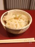 蓮根と梅の炊き込みご飯