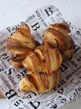 発酵なし!簡単クロワッサン【時短パン・発酵なしパン】