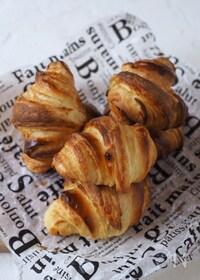 『発酵なし!簡単クロワッサン【時短パン・発酵なしパン】』