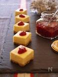 濃厚ホワイトチョコのチーズケーキ~ラズベリーソース添え