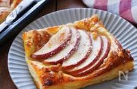 一歩上行く♪『簡単・アップルピーナッツパイ』