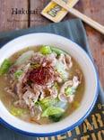 旨味とコクがたっぷり♡『豚バラと白菜の味噌バター煮』