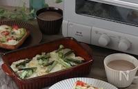 高機能オーブントースターで朝の食パンがもっと美味しく!料理も簡単に!