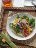 体を温めるラム肉とジャガイモのアジアンサラダ