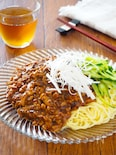 しいたけたっぷり♪旨味増し増しジャージャー麺(炸醤麺)