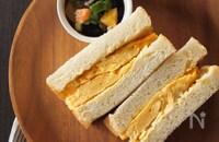 【どっちもおいしそう!】話題の厚切り卵サンドVS刻み卵サンド、徹底解説!