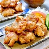 漬け込み不要!揉むだけ時短♡ガッツリ美味しい『定番鶏唐揚げ』