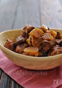 『美味しく鉄分補給!*新生姜と鶏レバーの甘辛煮*』