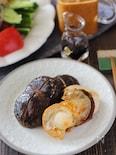 椎茸と帆立のバター焼き