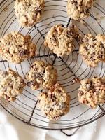 食物繊維たっぷりオートミールチョコクッキー