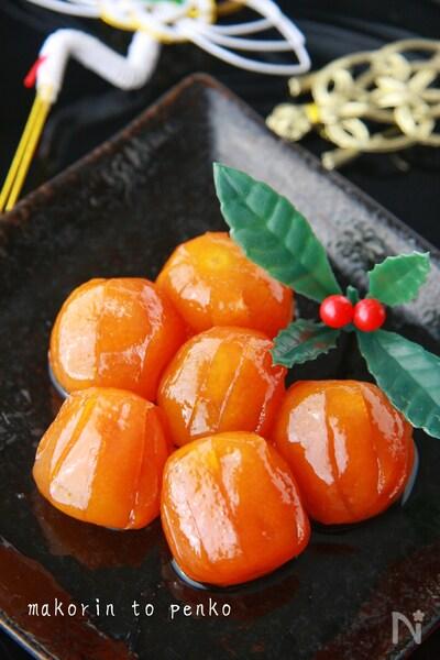 作り方 金柑 の 甘露煮 の