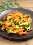 お弁当!野菜炒め カレーケチャップ風味