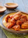 ぽん酢で簡単!*鶏肉の生トマぽん照り煮*