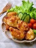 柔らか鶏むね肉の『甘辛ガーリック醤油チキン』