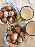 紅茶とレーズンのさくっふわっ!ヨーグルトドーナツ