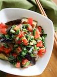 『スタミナ満点!ニラとまだれ素麺』#野菜たっぷり#ヘルシー